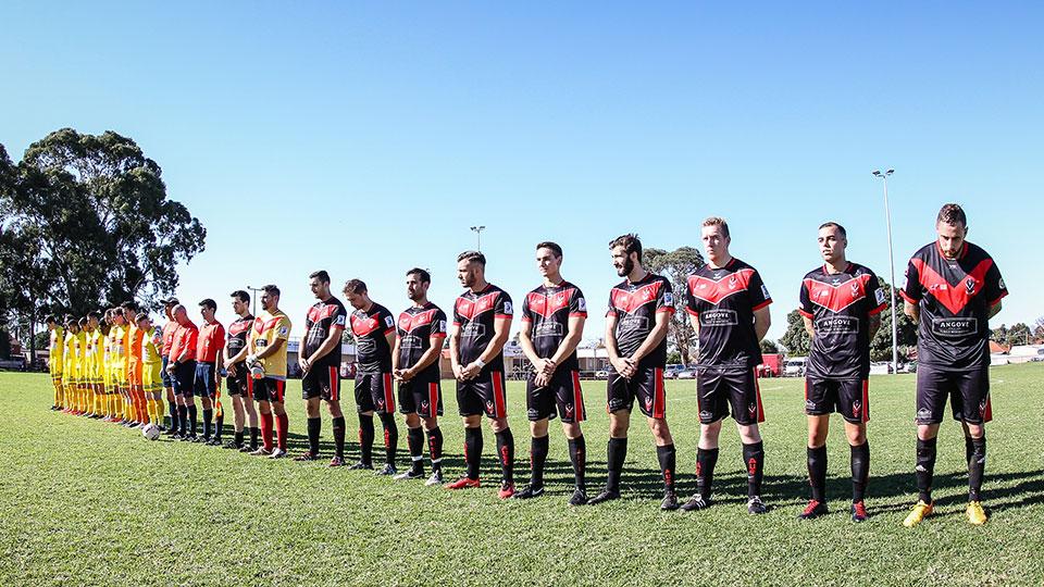 Grads Red ceremonial start FFA Cup