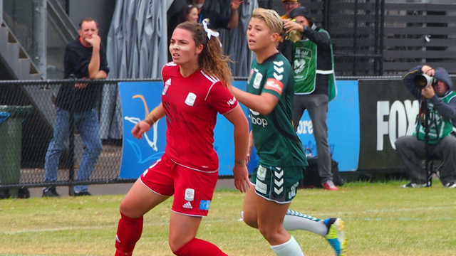Jenna McCormick vs Canberra United W-League 05/01/14