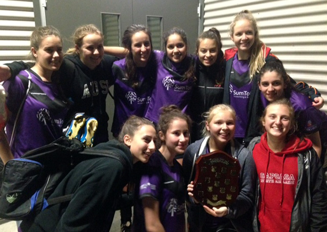 laura johns shield 2014 winners - AUSC!