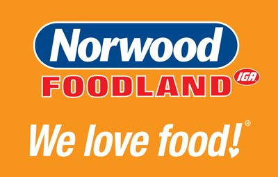 Norwood Foodland. AUSC team sponsor