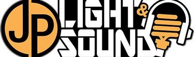 Sponsor logo - JP Light & Sound