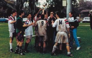 Uni Whites 1996 champions