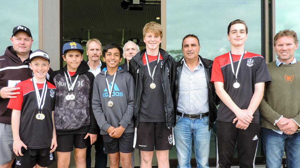 2016 Boys Award Winners