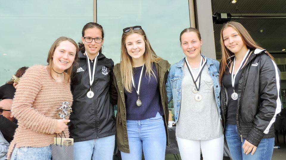 Junior award winners 2016