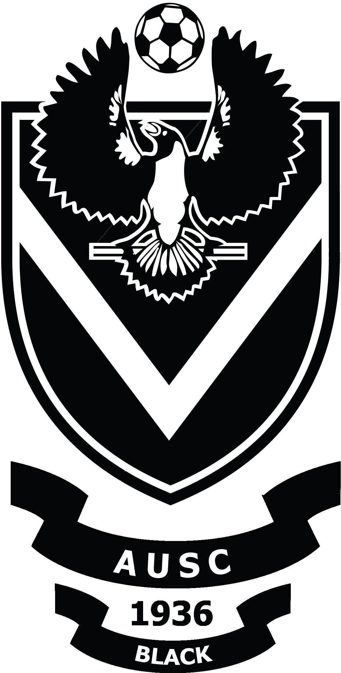 AUSC Black logo