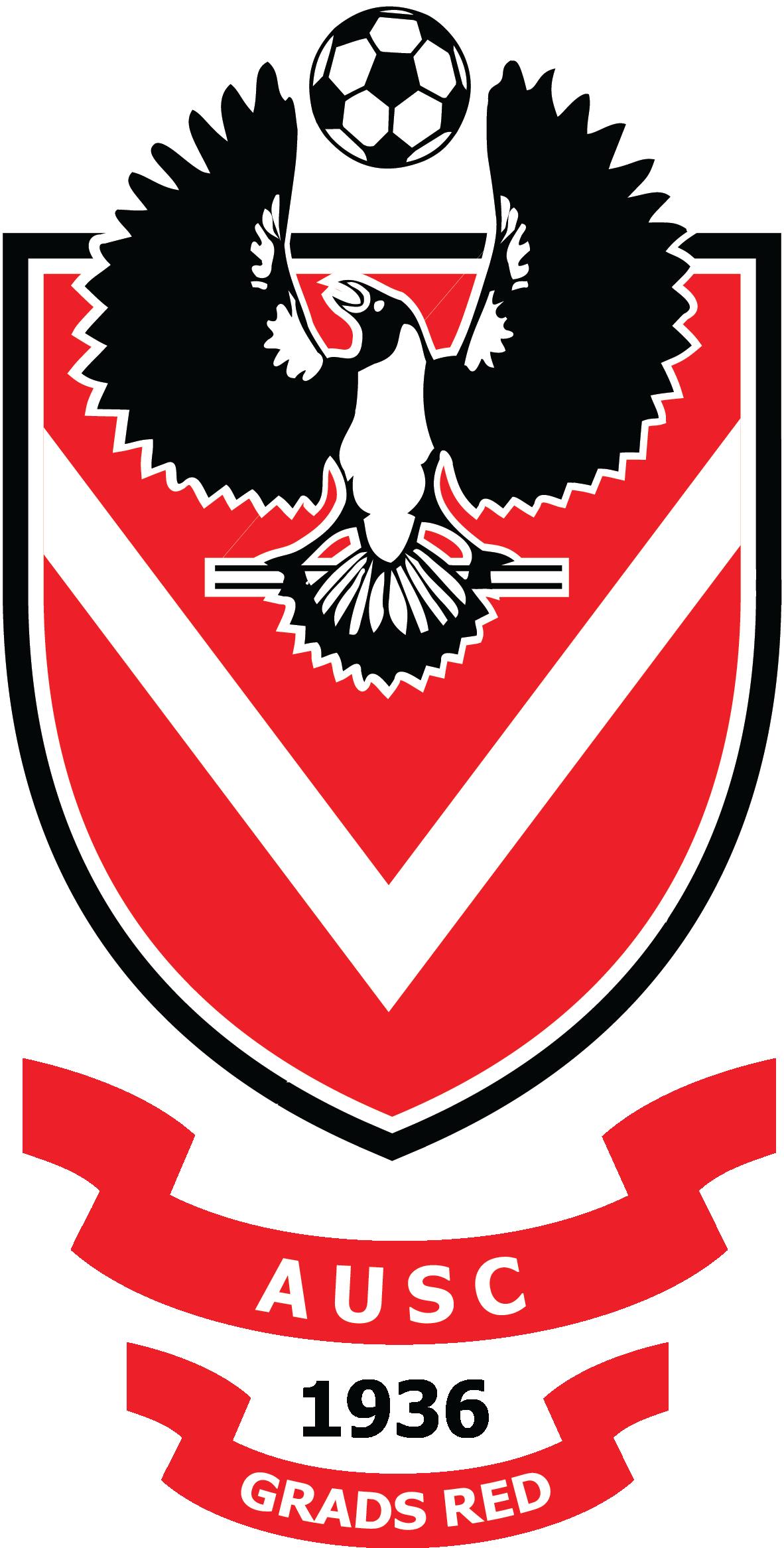 AUSC Graduates Red logo