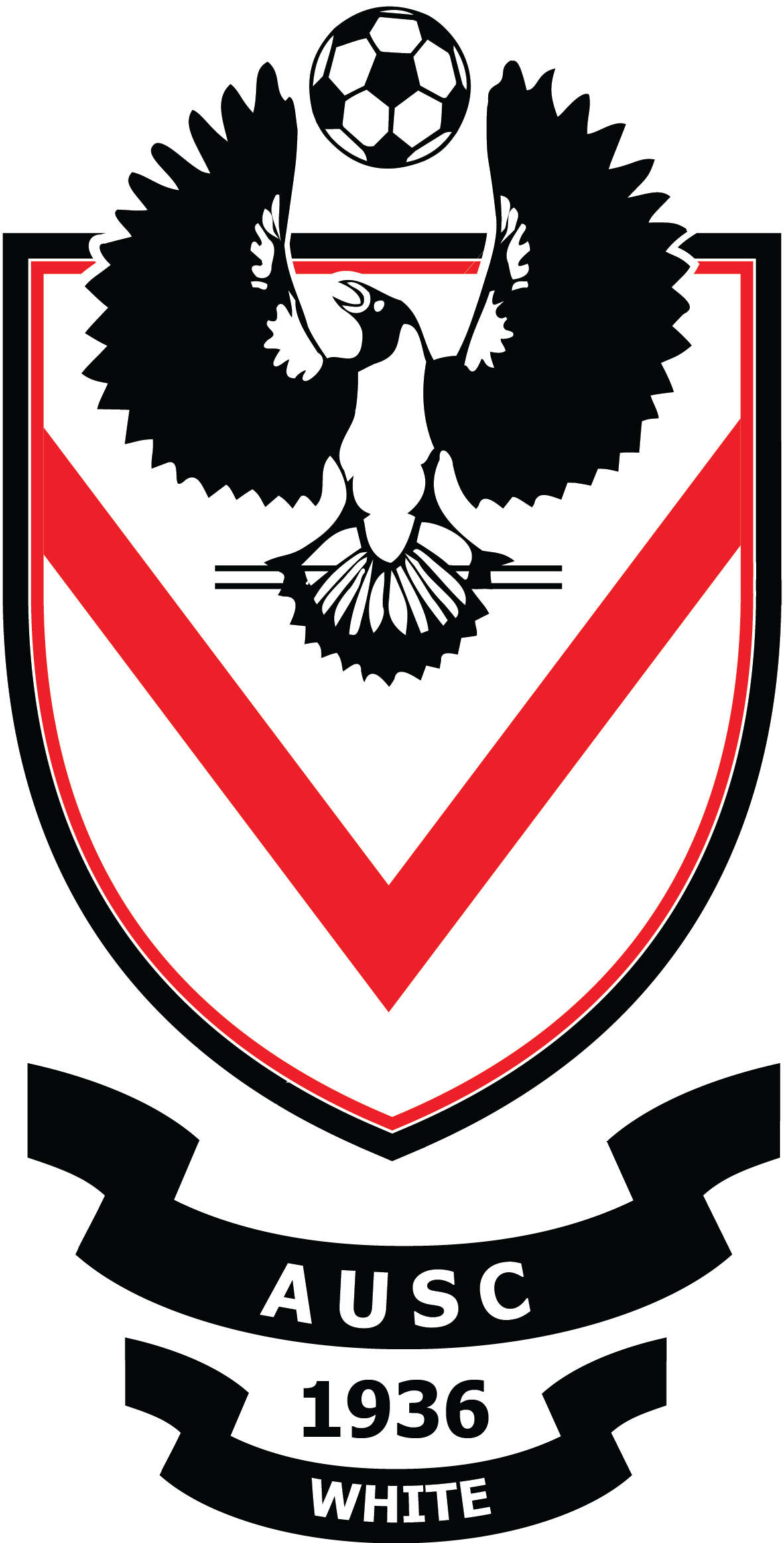 AUSC White logo