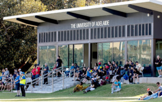 Clubhouse at State League Men home game