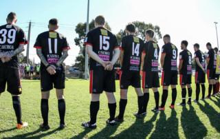 Courtesy 80kms.com - AUSC Graduates Red - FFA Cup