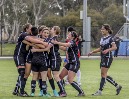 Champions: Division 1 Women Win Cup Final