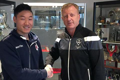 Steve Garden and new signing Koki Kasai