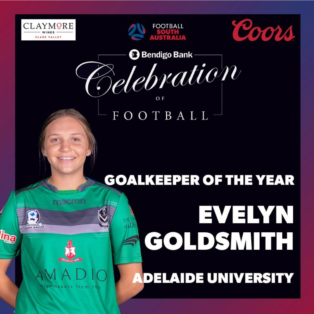 Evelyn Goldsmith - GK of the Year