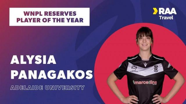 alysia panagakos player of the year 2020