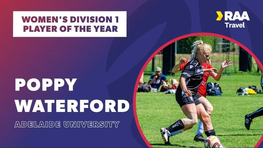 poppy waterford player of the year 2020