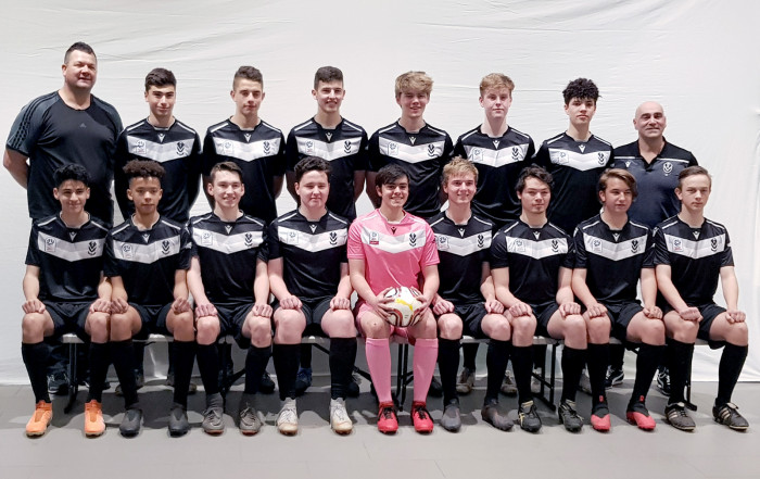 Under 18 Men 2020 photoshoot