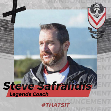 Steve 'Saf' Safralidis - AUSC White Legends coach