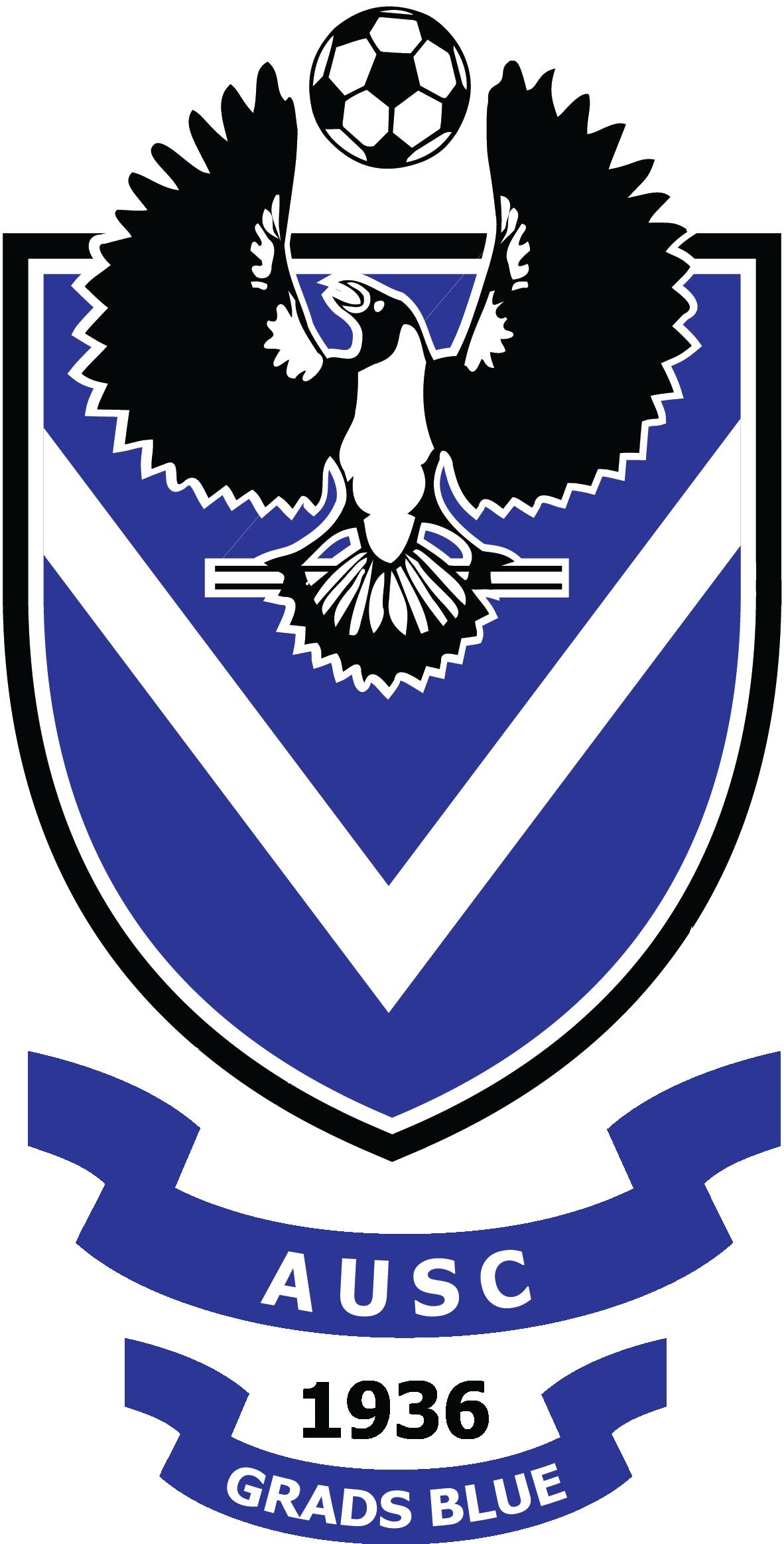 AUSC Graduates Blue logo