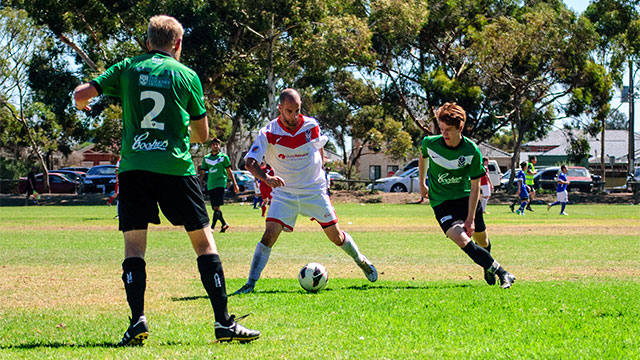 AU Blacks 2-2 AU Whites Bill Barabri Cup
