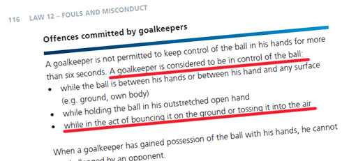 goalkeeper-offences