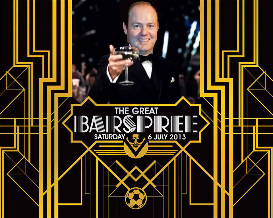 the great barspree graphic