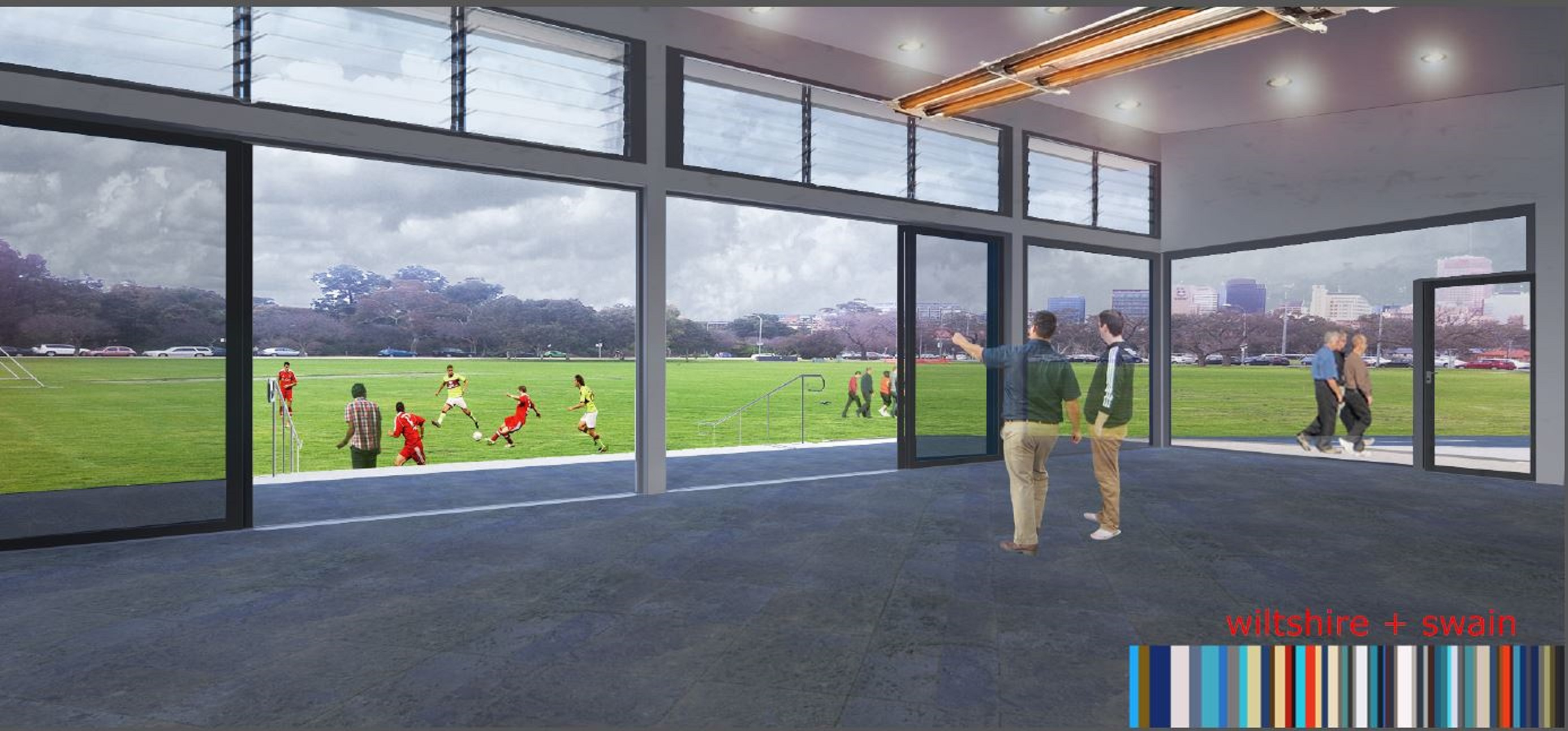 Newclubrooms-Soccer Internal View