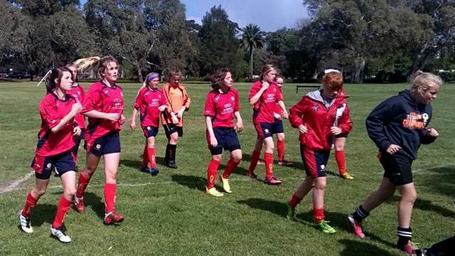 Talia State Soccer team U15 2013