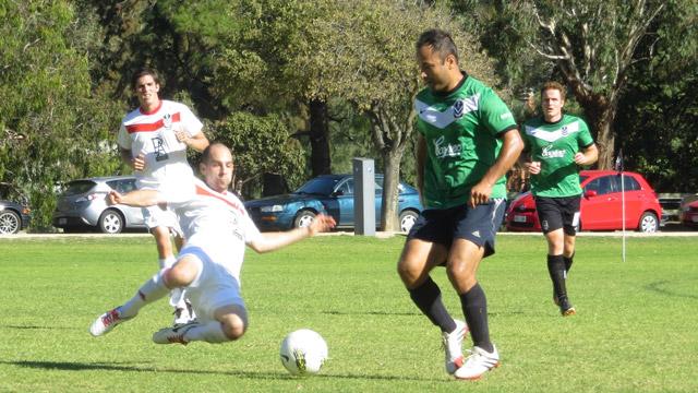 Prem Men v Whites big-tackle