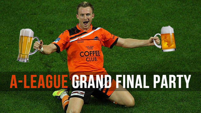 beer with besart berisha, a-league final news promor