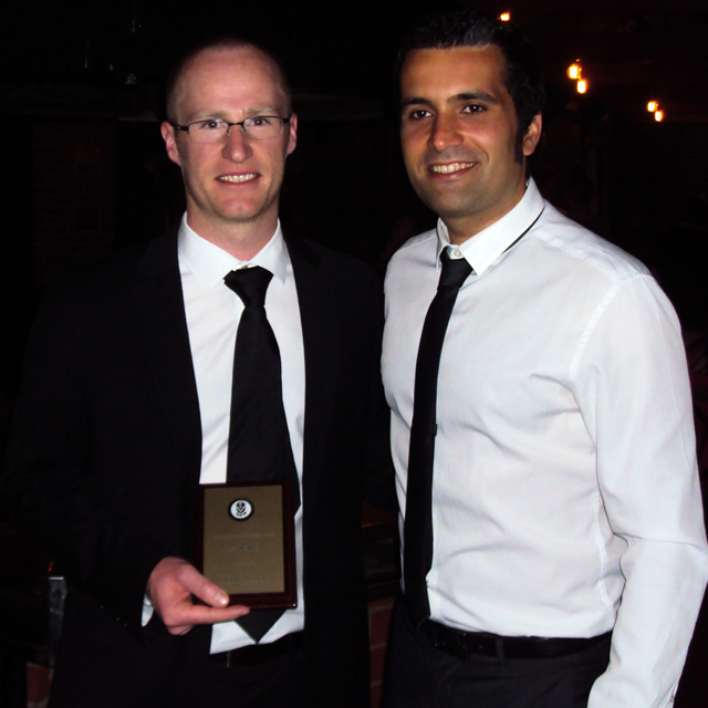 2014 Awards: Isaac Mann and Davide Simoni