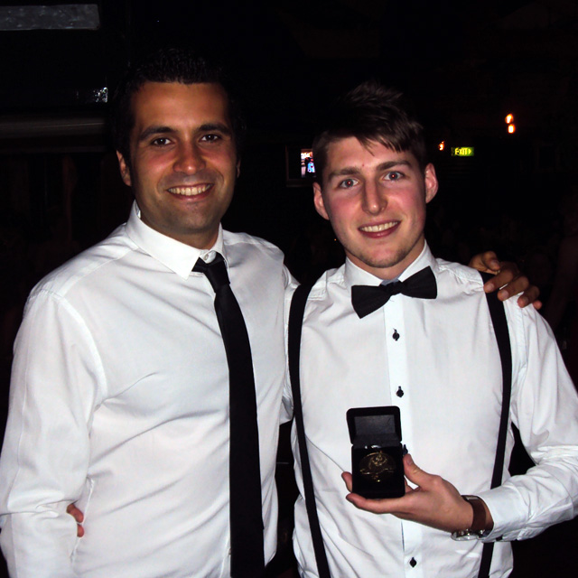2014 Awards: Davide Simoni and Ryan Lewis