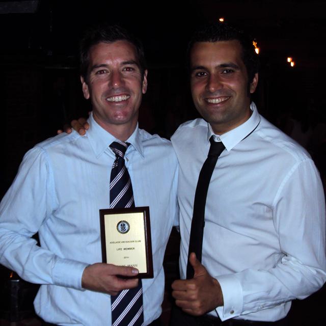 2014 Awards: Adrian Leet and Davide Simoni