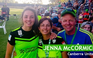 Jenna McCormick Canberra United