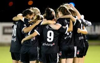 WNPL team huddle