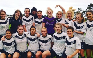 Div 2 Women defeated Flinders in the cup Round of 16