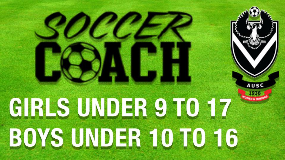 soccer coaches advertisement