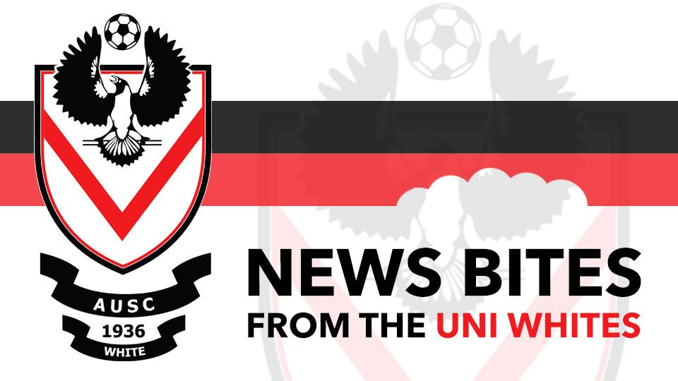 Uni Whites news