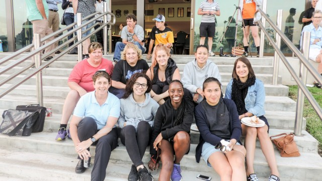 Women and juniors welcome event