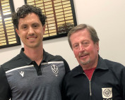 Michael Matricciani and Dr Bill Hill