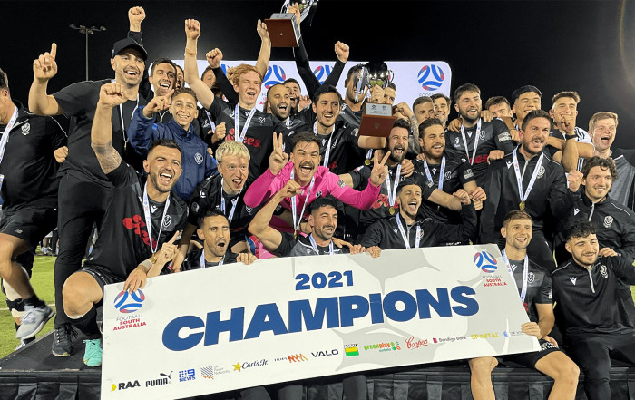 AUSC are State League 2 champions 2021