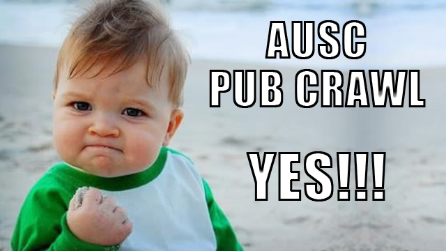 pub crawl excitement pic