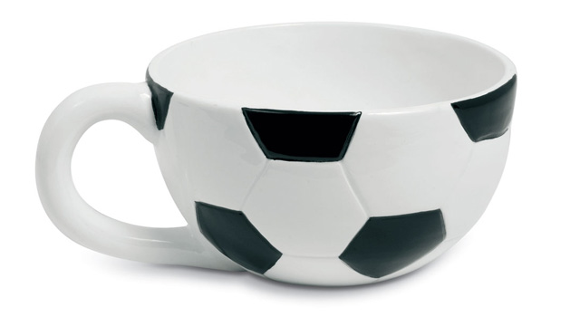 round soccer cup