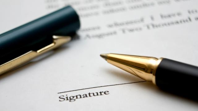 signature form pic