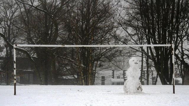 Snowman weather update